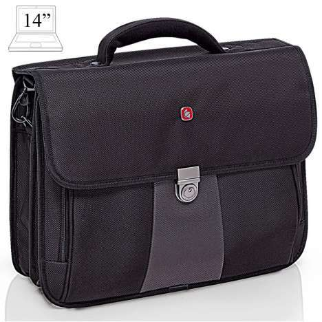 Laptop bailhandle Gladiator Compact Case 14