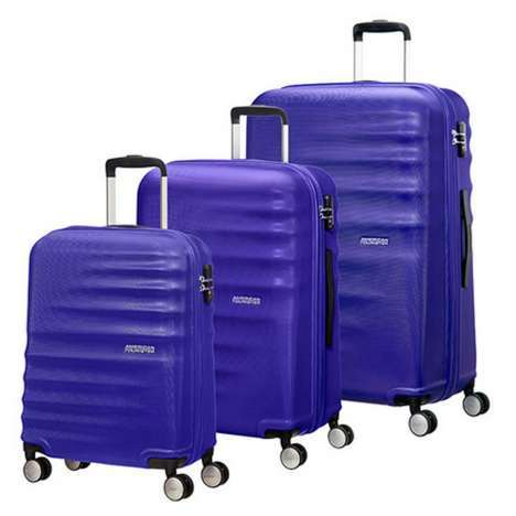 Luggage set American Tourister Wavebreaker 55/66/77 cm