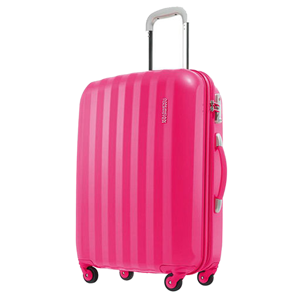 Suitcase Spinner 75 Cm., American Tourister Prismo, Pink | Travel ...