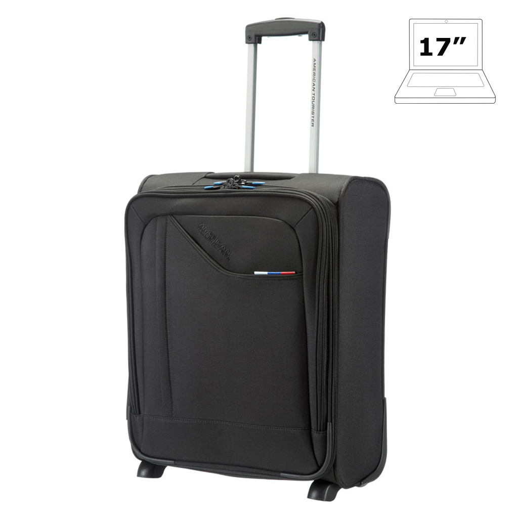 Wheeled laptop bags 17 3 american tourister business iii travel cases - American tourister office bags ...
