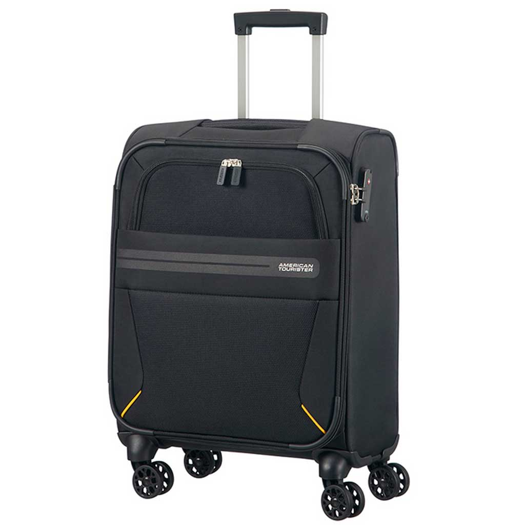 cabin suitcase american tourister summer voyager 55 cm travel cases. Black Bedroom Furniture Sets. Home Design Ideas